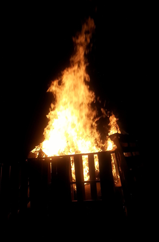 5 the Blaze well under way 003