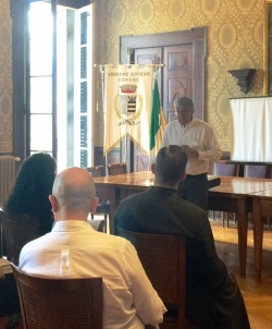 Image result for Photo of Dr.John Rao at Lake Garda