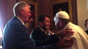 "Yayo Grassi, an openly gay man, and his ""partner"", Iwan Bagus, were invited to the Vatican Embassy on September 23 for an audience with the Pope. A video of the meeting shows Grassi and Francis greeting each other with a warm hug"