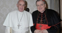 Cardinal Burke Rejects 'Schism', Calls on Pope to Clarify Confusion