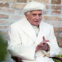 Still searching for his hermeneutic-- pray for Pope Benedict