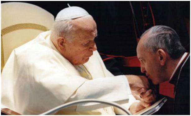 JPII and Bergoglio