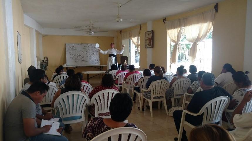 Jambon teaching class