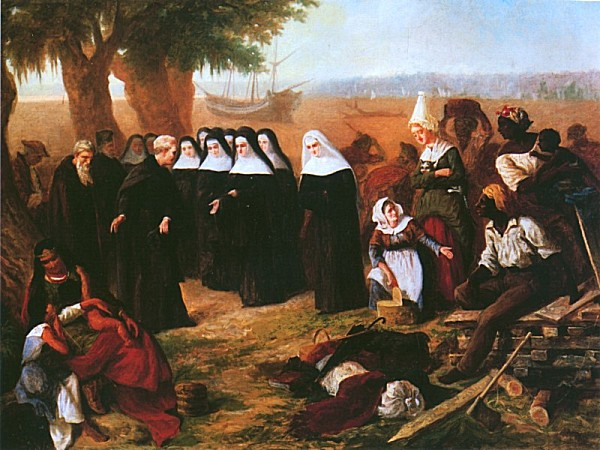 Landing of the Ursulines