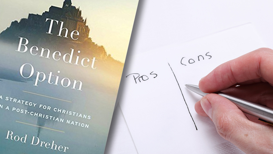 Pros and Cons of the Benedict Option Book 900