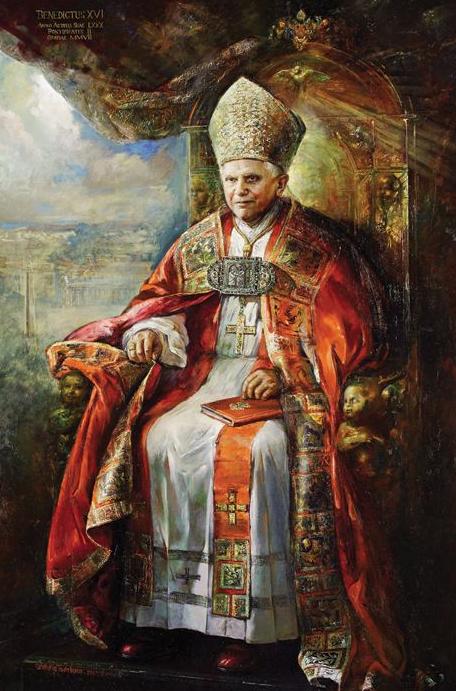 bxvi portrait