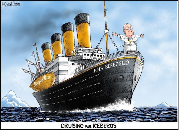 cartoon titanic