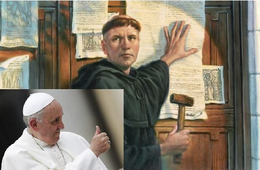 pope and luther