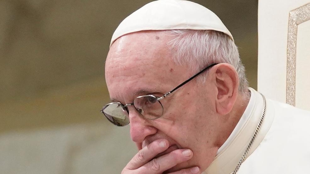 pope contemplates