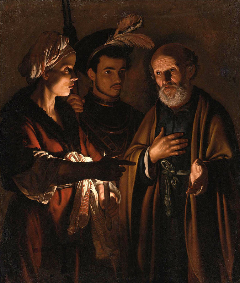 the denial of saint peter adam de coster