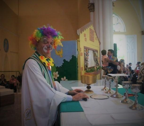 clown priest