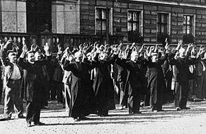 mazi persecution of catholics