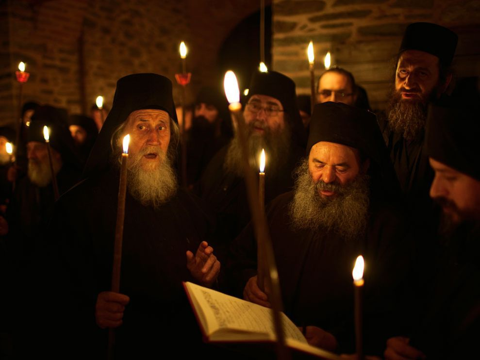 orthodox monks