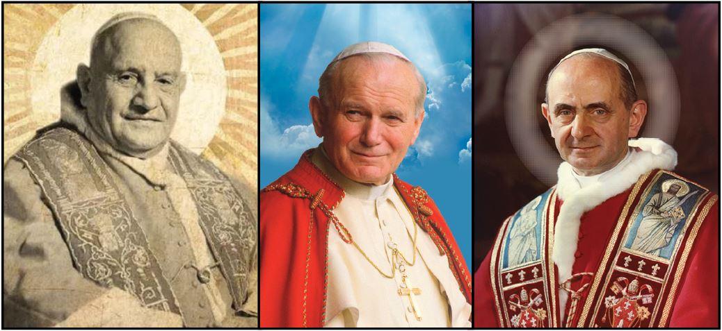 saint popes recent