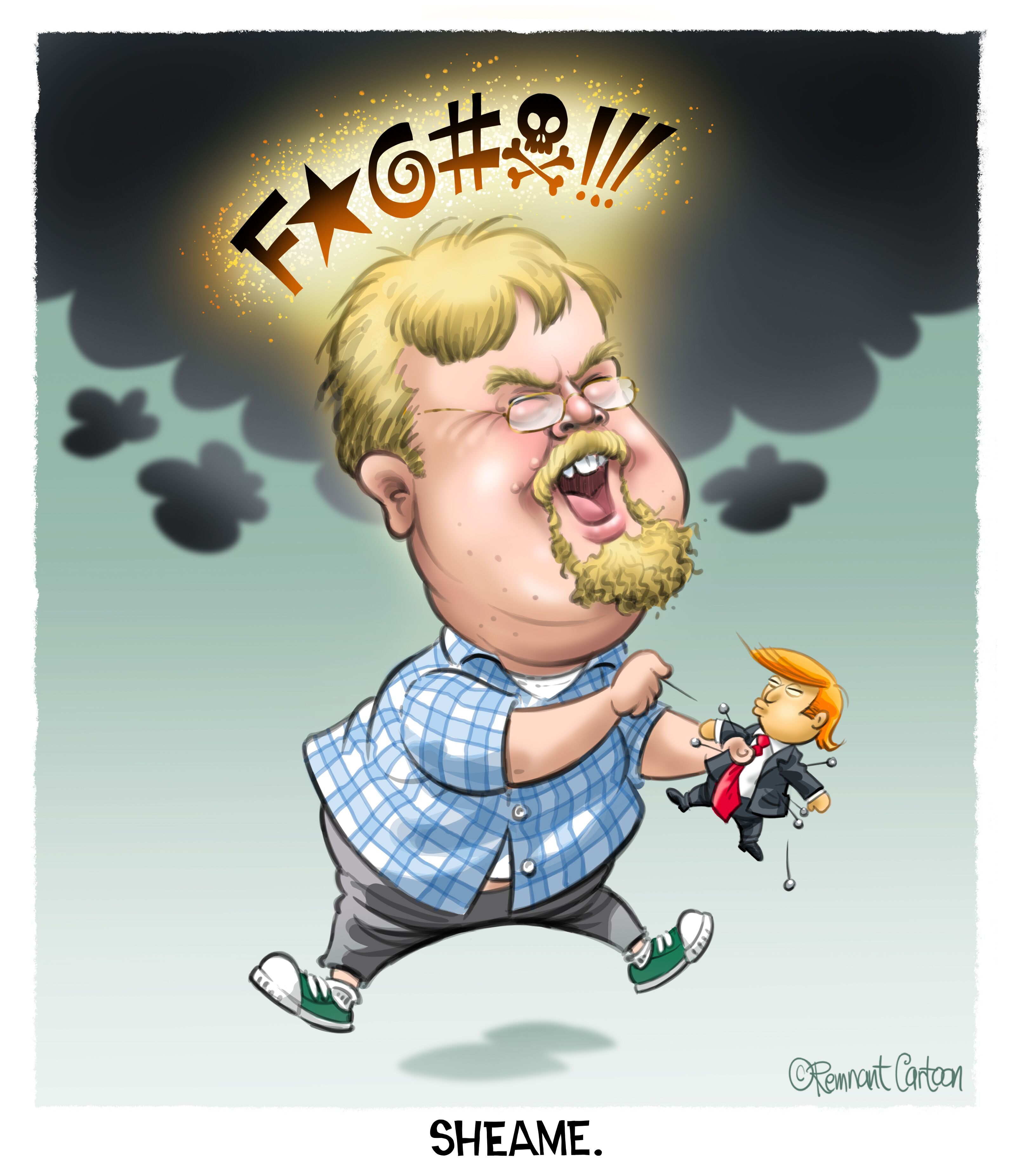 Shea Cartoon