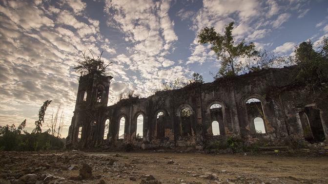 abandonded church