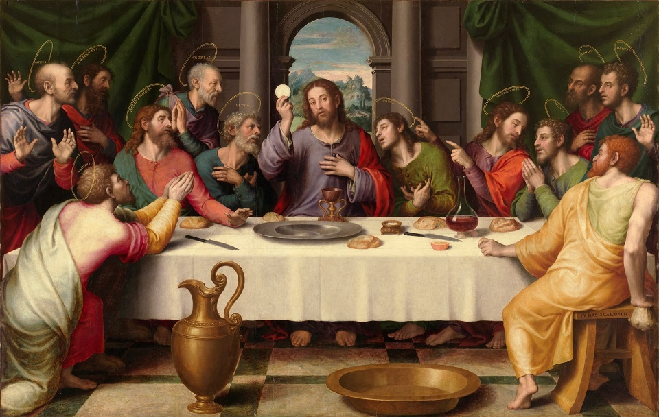 last supper with chalice