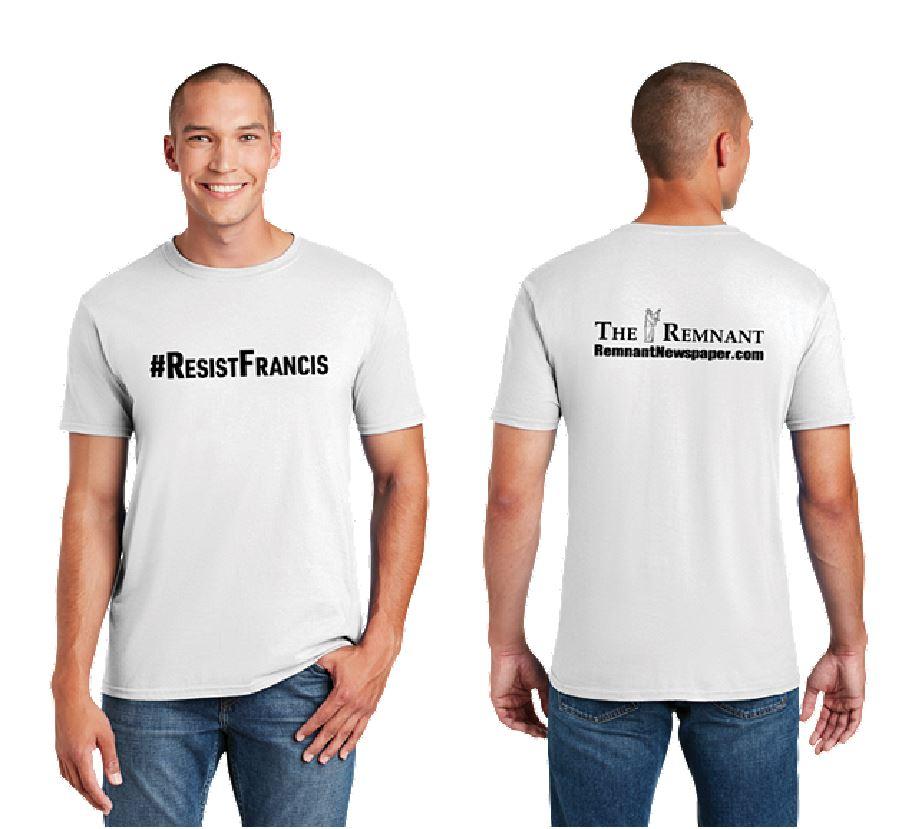 resist francis shirt ad