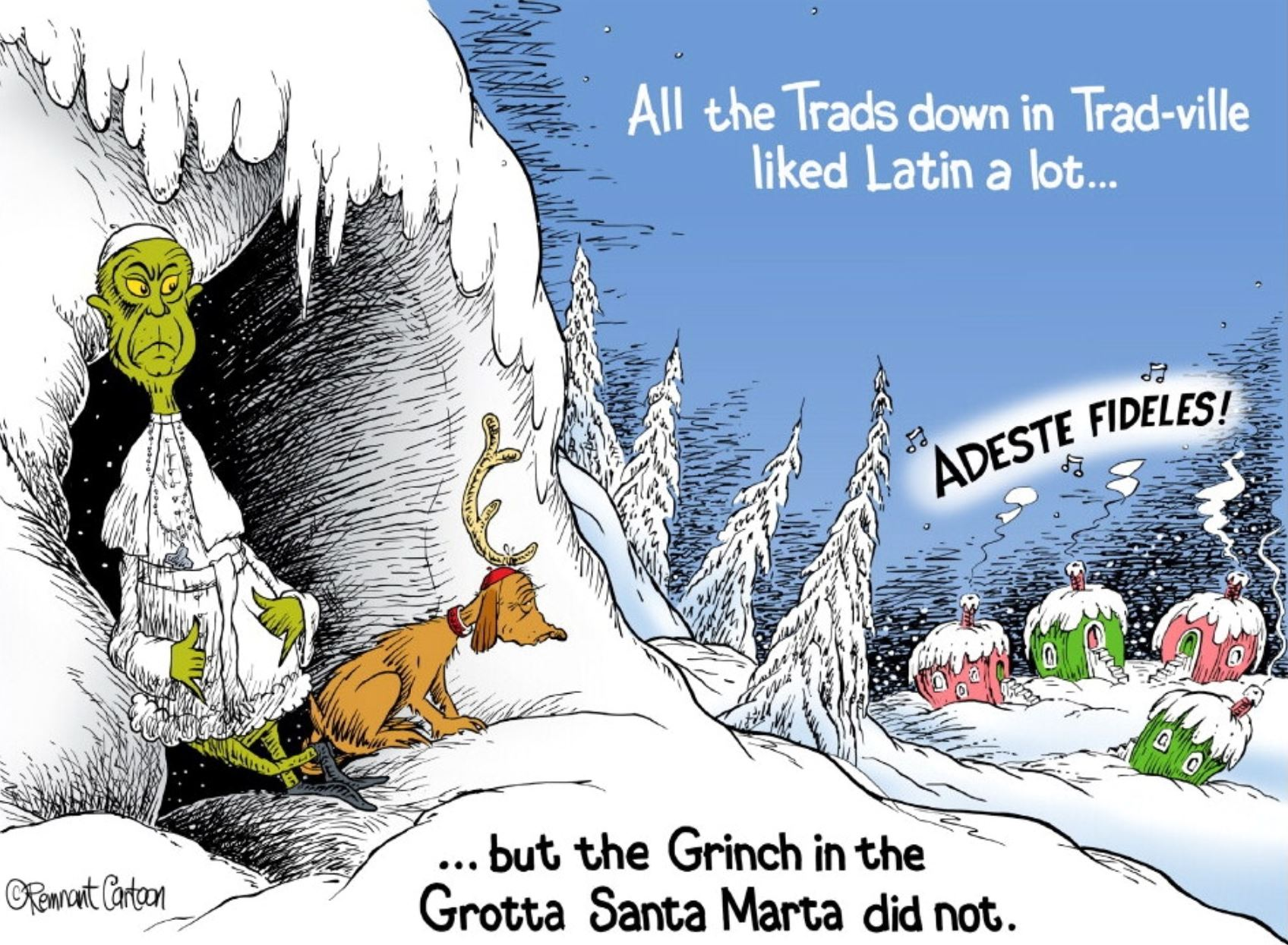 tom xmas grinch cartoon