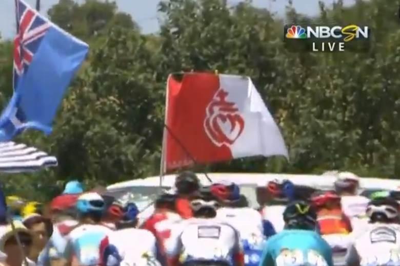 tour de france vendee flag