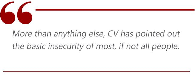 cv insecurities quote