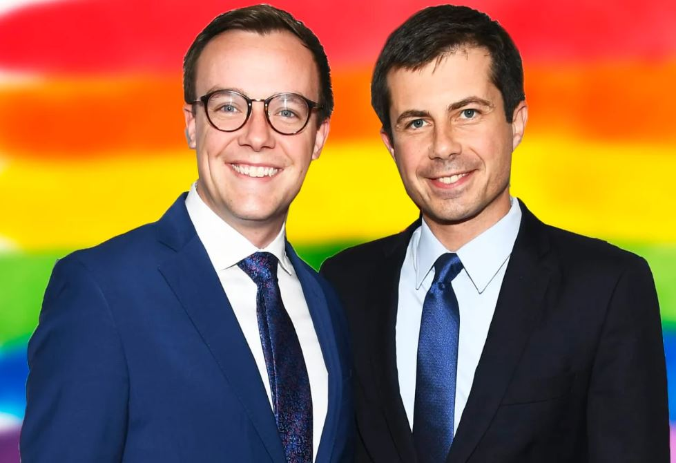 mayor pete and partner