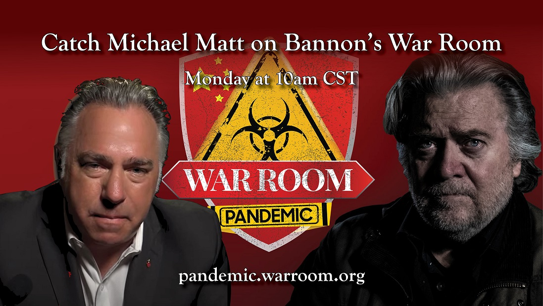 mike on Bannon war room pandemic