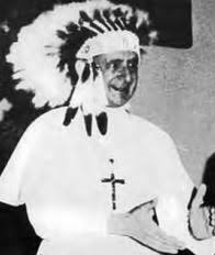 paul vi gooofy feather head