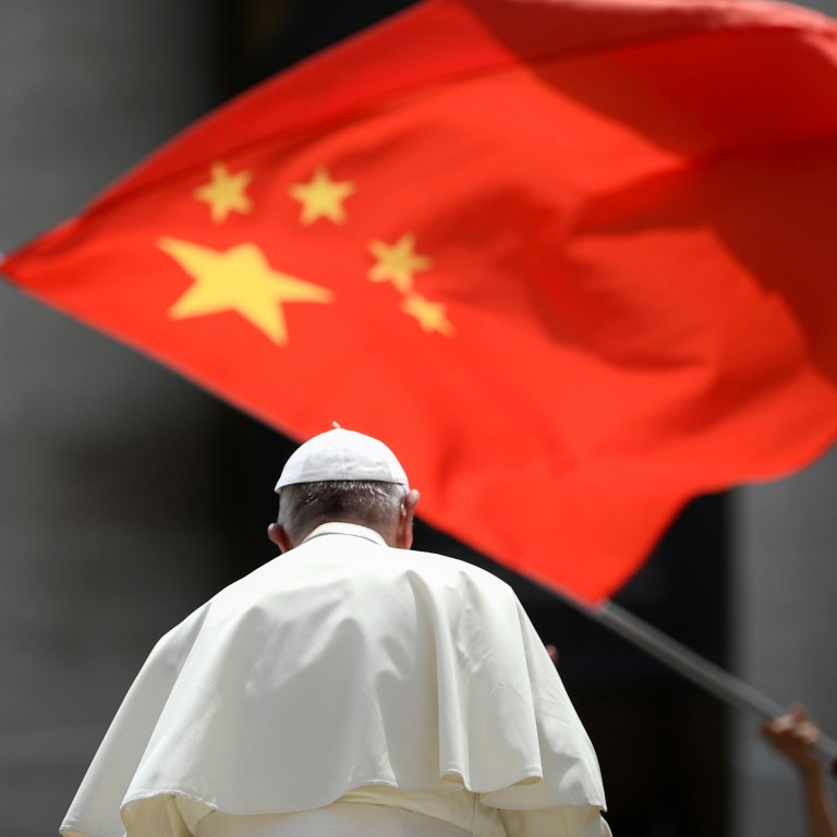 pope francis china