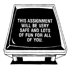 this assignment will be safe and fun