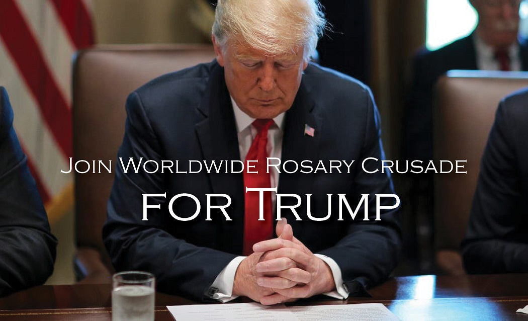 trump rosary crusade
