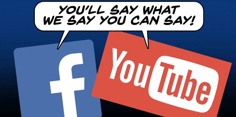 youtube facebook censorship