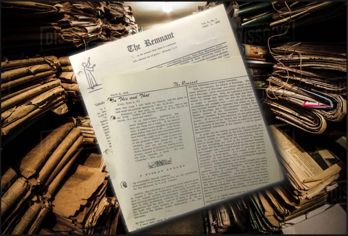 Archive graphic lefebvre 1972