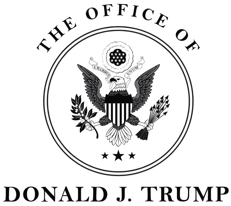 DJ Trump 45 office logo