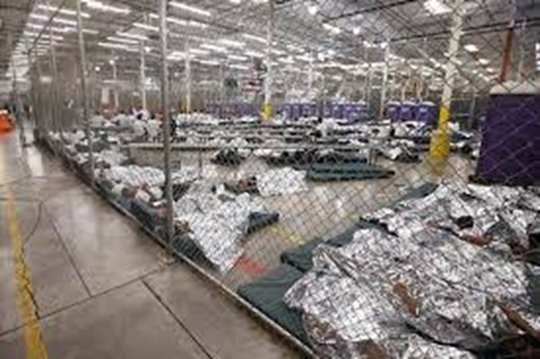 Liz southern border kids in cages
