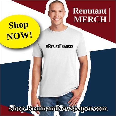 ResistFrancis Shirt Ad Remnant Shop Ad