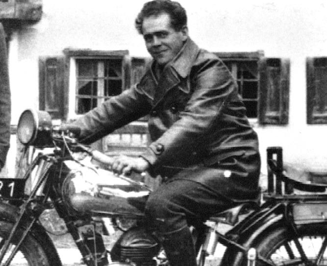 franz jagerstatter motorcycle