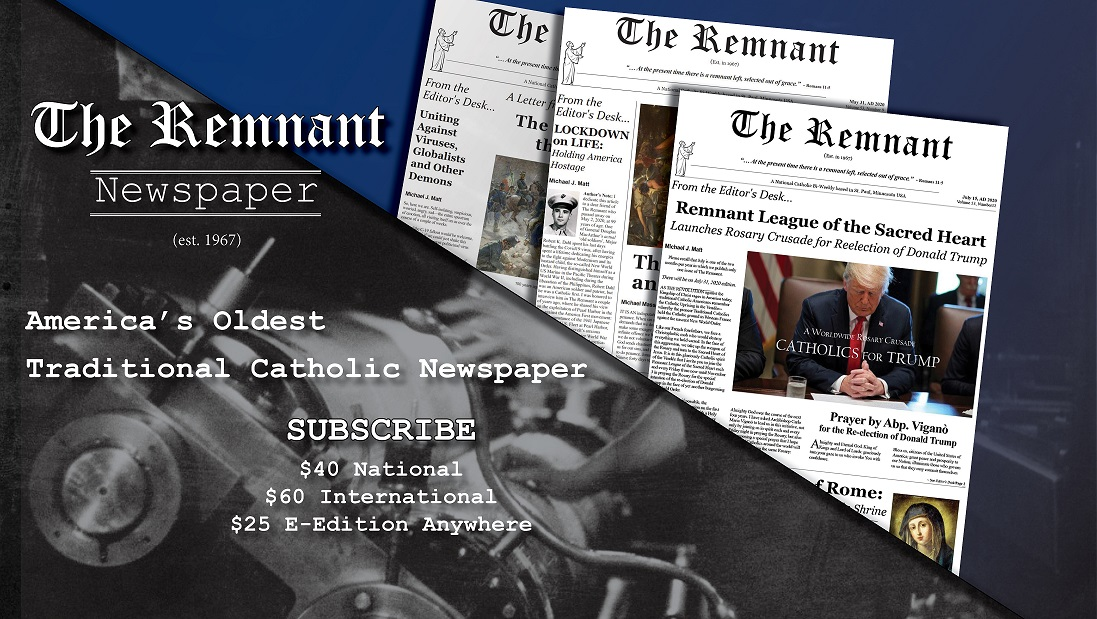 new Remnant Newspaper ad for video new as of July 2020
