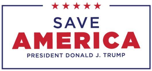trump save america logo