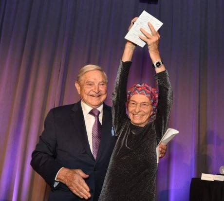 Bonino and Soros