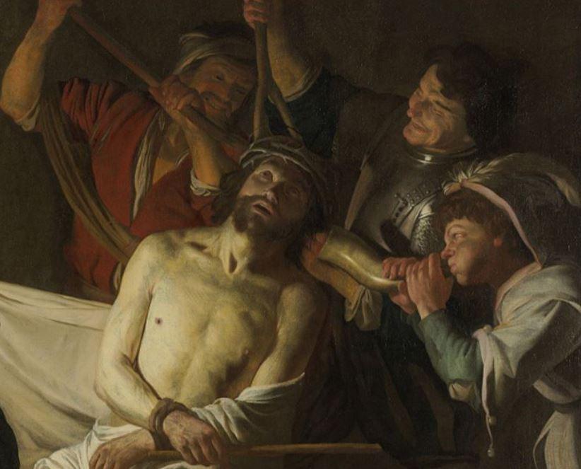 Christ mocked