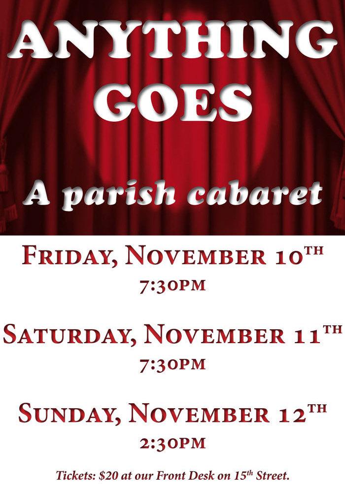 Parish Cabaret
