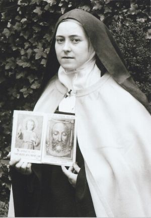 St. Therese member of Holy Face devotion