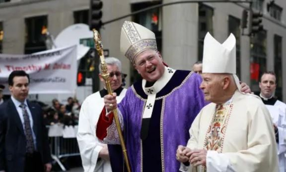 cardinal dolan and creep