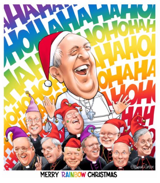 gay vatican christmas tom cartoon