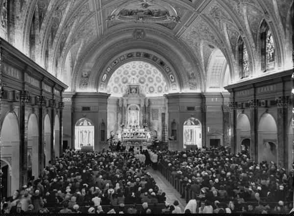 mass in 1950