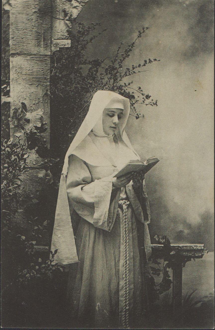 nun reading