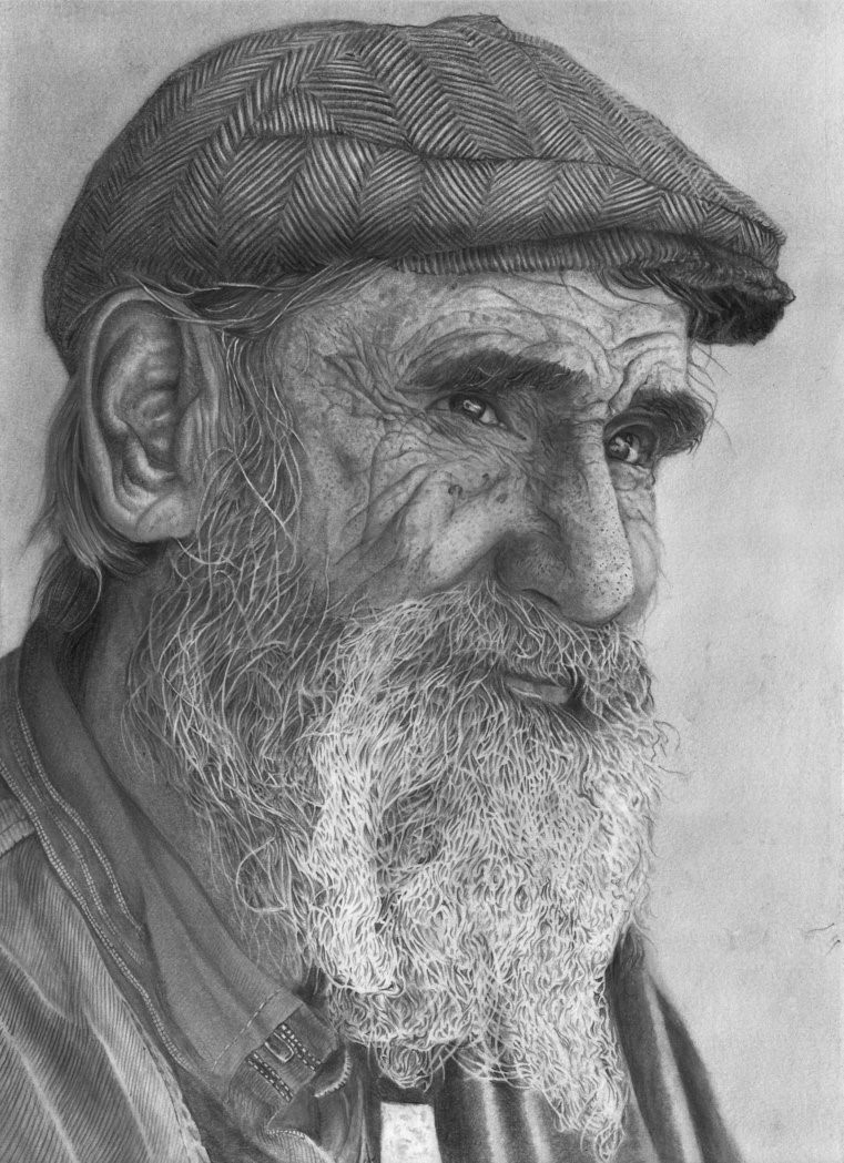 portrrait of old man