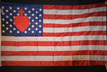 US-Flag-with-Sacred-Heart
