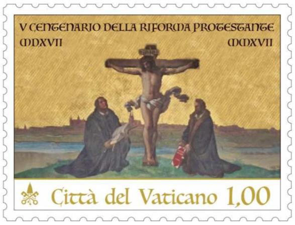 vatican stamp
